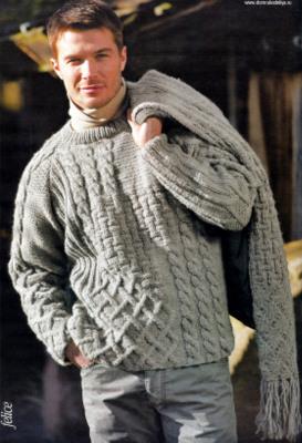 27. Модели на мужские вязанные свитера.  Сентябрь 27th, 2012.  Posted on.