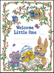 Превью Dimensions03845 Welcome Little One Birth Record (348x465, 240Kb)
