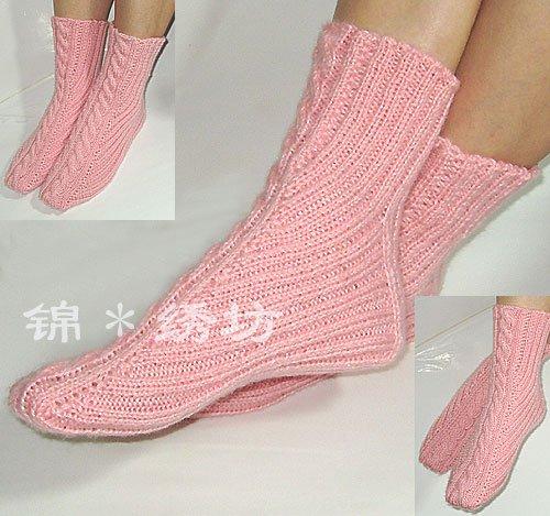 Вязание на спицах носки - Master class.