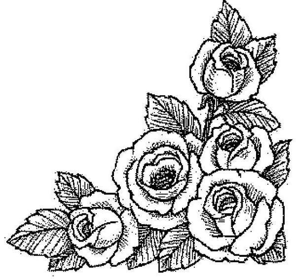 картинки чёрно белые для печати