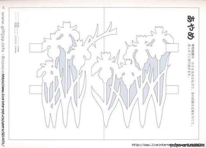 Изготовления открытки понадобятся материалы 1 схема ажурной, надписи объявления фото