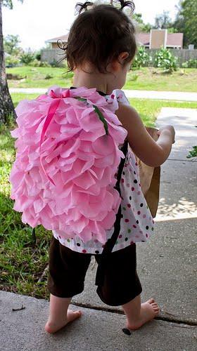 Как украсить детский рюкзак.  Мастер класс.  Просто и красиво.