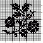 Превью filet%20rose%20pattern (455x453, 3Kb)
