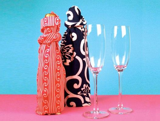10 идей упаковки бутылки в подарок stranapap.ru