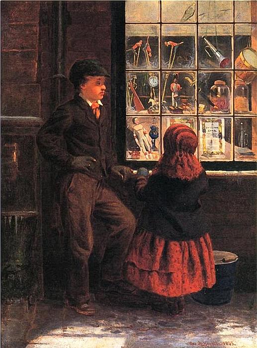 George H.Yewell - Christmas Eve, 1863 (517x700, 419Kb)