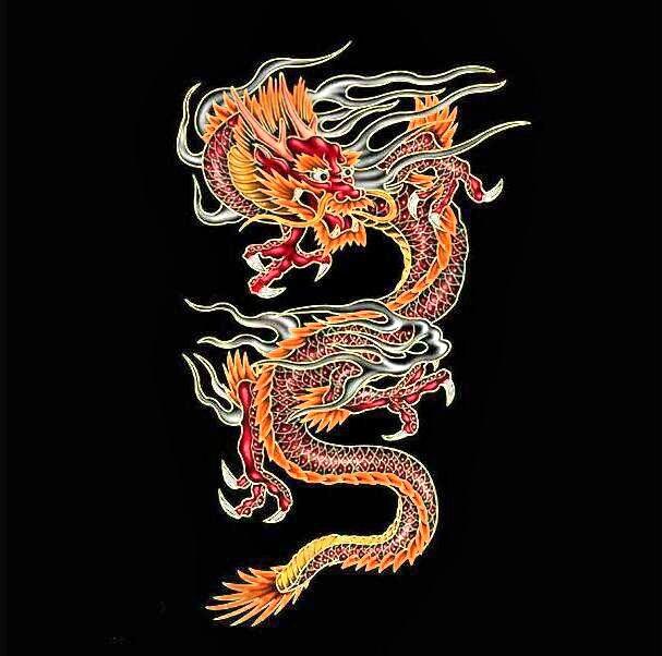 китайские открытки с драконом недоумением