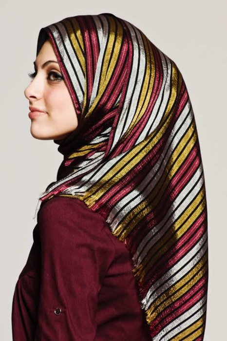 نحوه بستن روسری های مجری صدا سیما دانلود آموزش بستن روسری و شال 9.