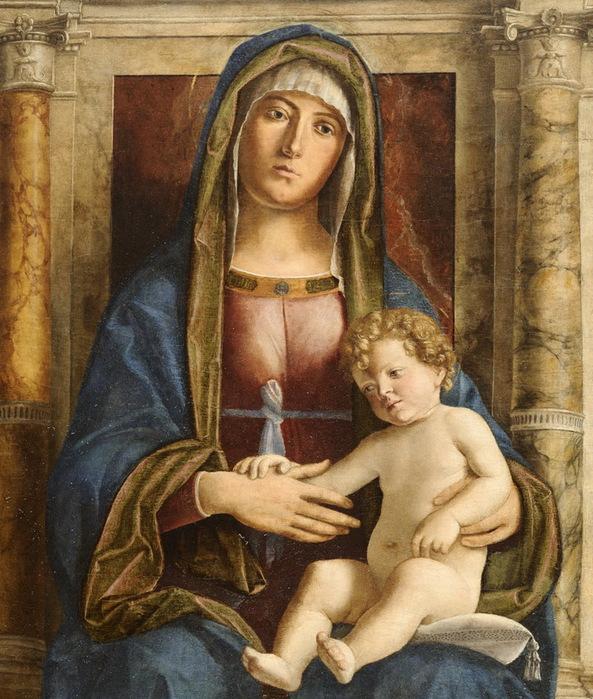 Madonna_in_trono_col_Bambino_fra_angeli_e_santi_-_Particolare_03 (593x700, 177Kb)