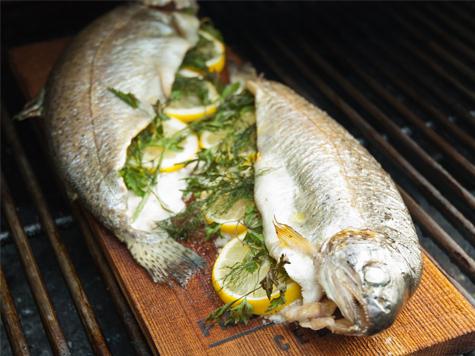 Готовим форель методом фарширования, кухня рыбака будет достаточно
