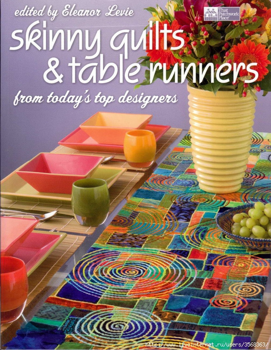 Skinny Quilts & Table Runners (543x700, 383Kb)