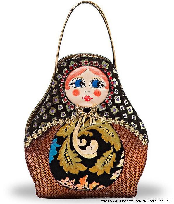 Женские сумки итальянской компании Braccialini - как источник.
