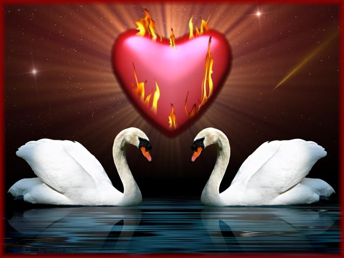 Поздравление летием, символ любви открытки