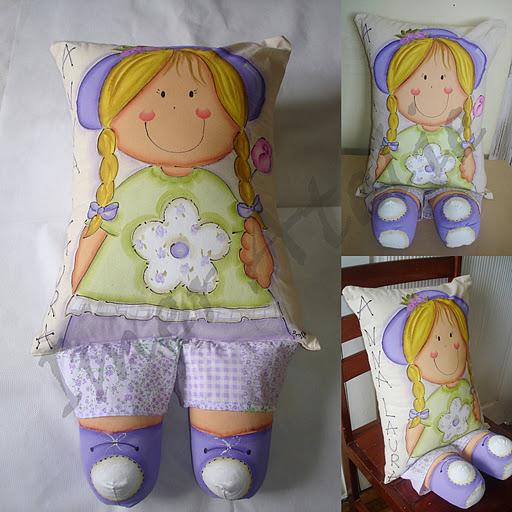 Подушки для кукол своими руками 25
