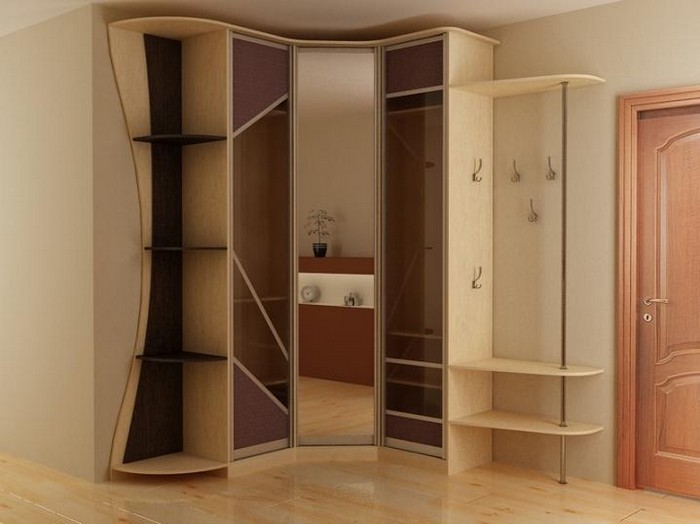 шкафы купе и кухни угловой шкаф купе фото внутри