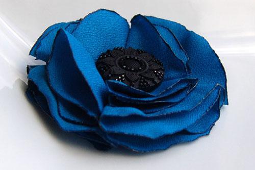 Цветы из ткани, тесьмы, войлока, шелковых лент.  Красота)))я уже так...