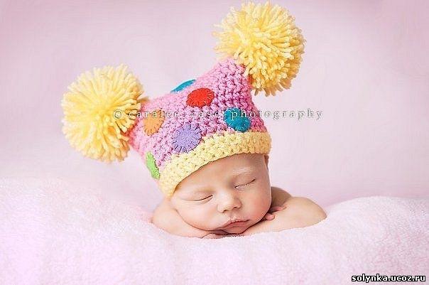 шапки мужские вязаные с помпоном - Выкройки одежды для детей и взрослых.