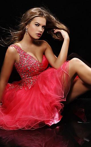 модели вечерних платьев 2012.