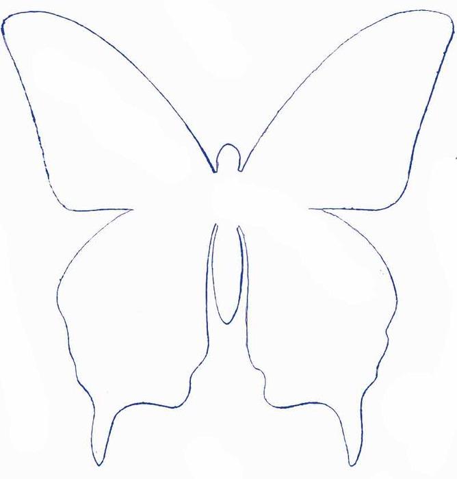 Как сделать своими руками бабочек на стену