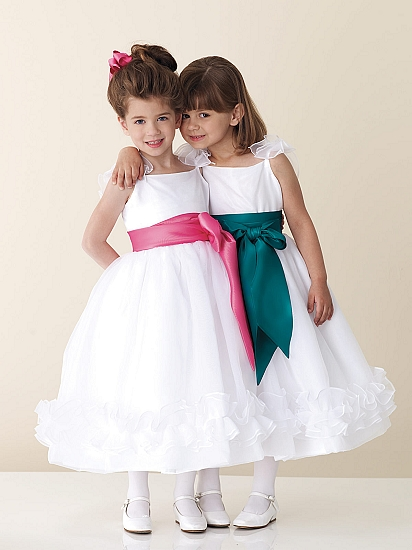 Свадебные платья для невесты и детей (1-я часть)