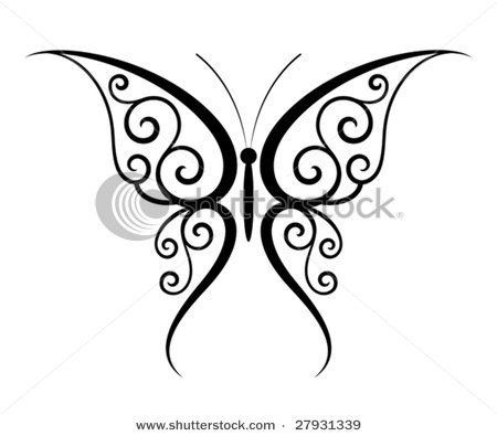 stock-vector-abstract-fantasy-butterfly-tattoo-vector-27931339 (450x395, 30Kb)