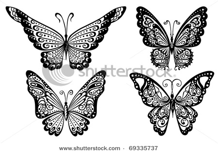 stock-vector-artistic-pattern-with-butterflies-suitable-for-a-tattoo-69335737 (450x316, 52Kb)