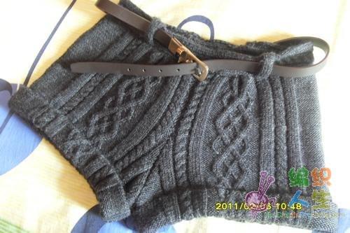 Женские вязаные шорты крючком секси
