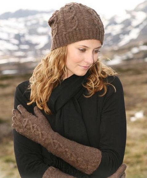 Берет крючком, вязание женских зимних беретов крючком.