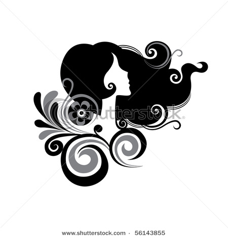 stock-vector-female-in-profile-with-flowers-56143855 (450x470, 34Kb)