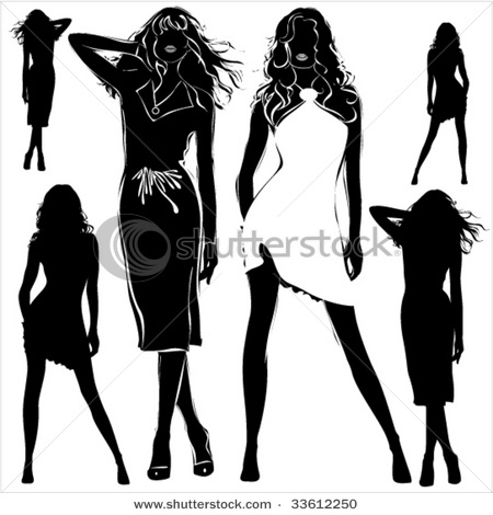 stock-vector-a-lot-of-vector-black-silhouettes-of-beautiful-womans-on-white-background-33612250 (450x470, 52Kb)