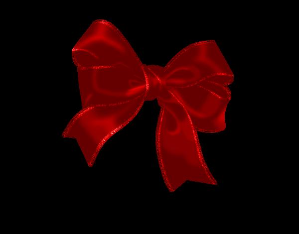 Красный бантик картинка на прозрачном фоне