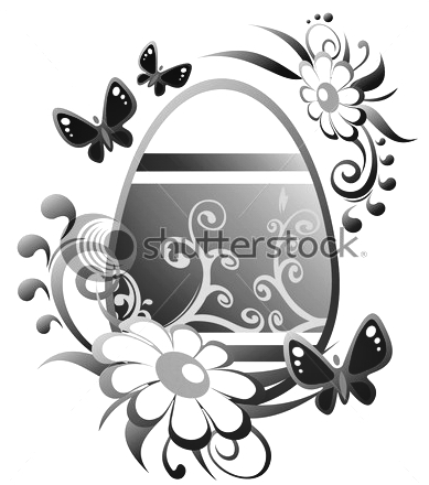 stock-photo-ornate-easter-egg-and-flowers-isolated-on-a-white-background-42678358 (389x440, 87Kb)