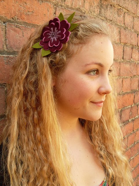 felt flower hairband 1 (480x640, 92Kb)