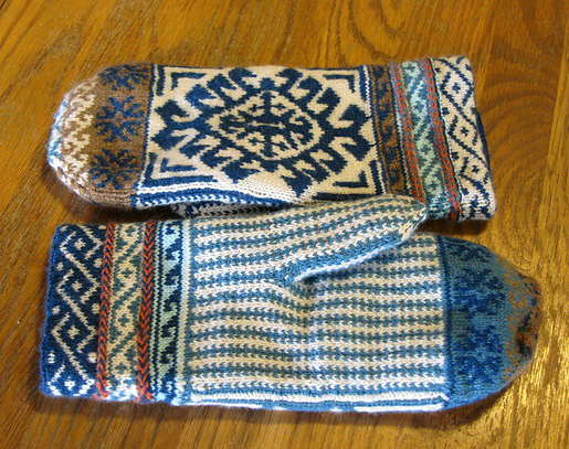 Turkish Sampler Mitten Charts by Renee Burton (515x407, 366Kb)