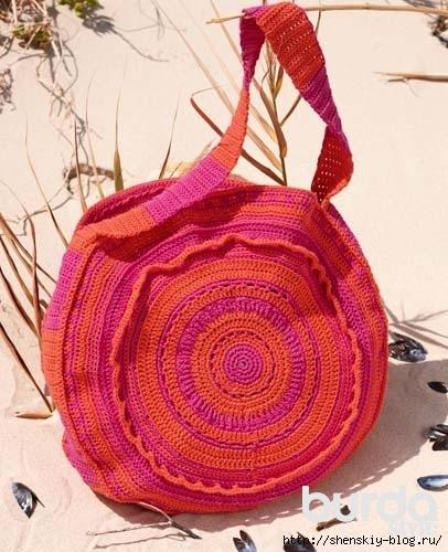 764673f6be6a Модная круглая сумка от