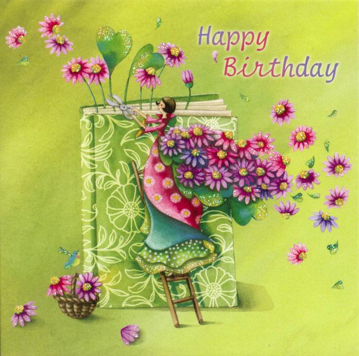 Поздравлениями, картинка с днем рождения женщине художнику