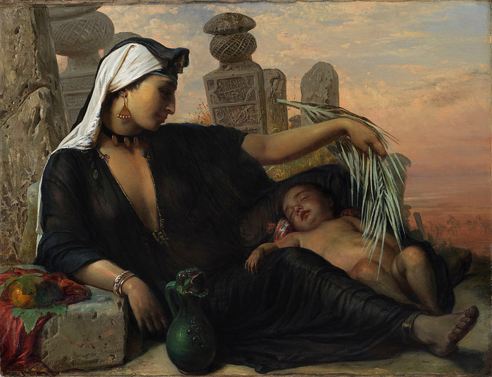 1024px-Egyptian_fellah_woman_(1878_painting) (700x536, 434Kb)