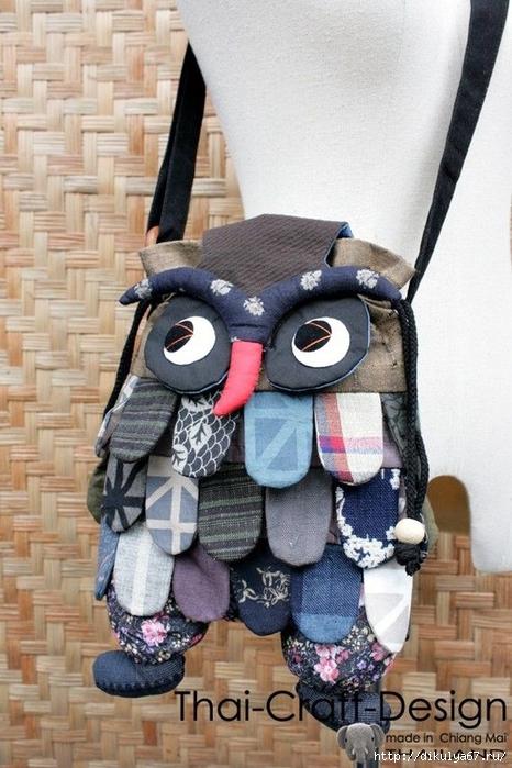 cb1acb39a9af рюкзак-совушка - Самое интересное в блогах