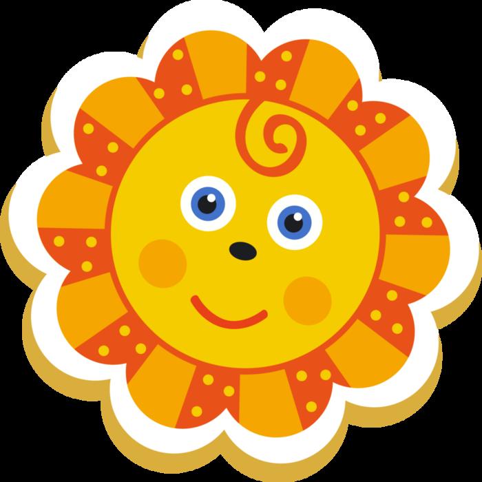 Картинка солнышко для детей цветная