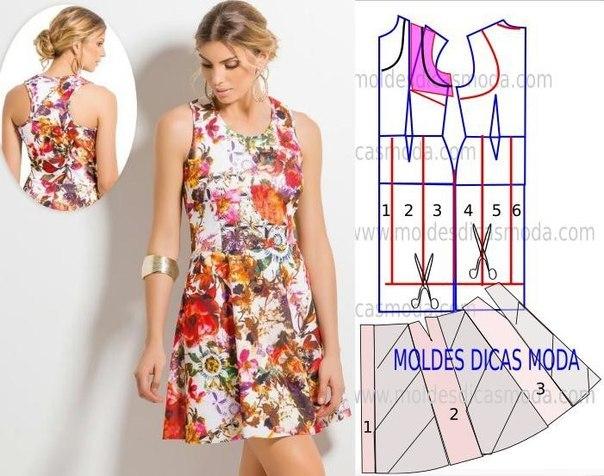7b8efbbaa9ec510 простое платье сшить - Самое интересное в блогах