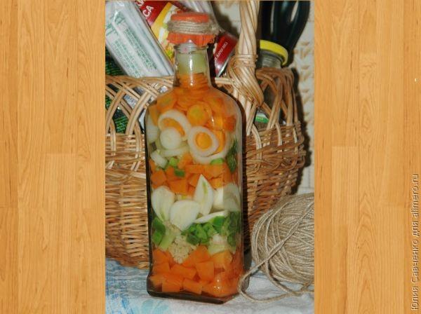 Декоративная бутылочка для кухни - Запись пользователя Рыжая Бестия - Блоги веб 3.0 на Имхонете