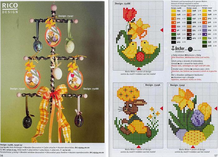 Aktualne Handmade-kursy ,wzory ,tutoriale: Haft krzyżykowy-dużo LY79