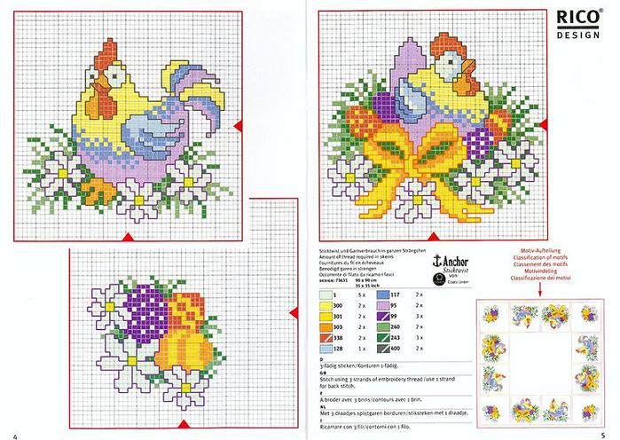 Super Handmade-kursy ,wzory ,tutoriale: Haft krzyżykowy-dużo QM98