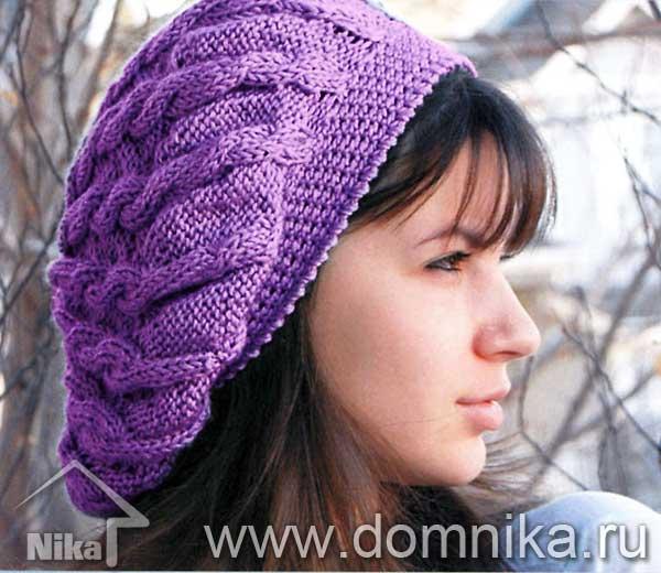Вязаные шапки для женщин. Схемы вязания 100 моделей женских шапок.