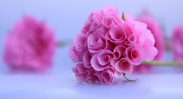 Цветы из бумаги инструкция - Изготавлимаем цветы