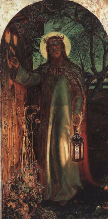 Уильям Холман Хант(William Holman Hunt) 3166706_Hunt_Light_of_the_World (700x1400, 219Kb)