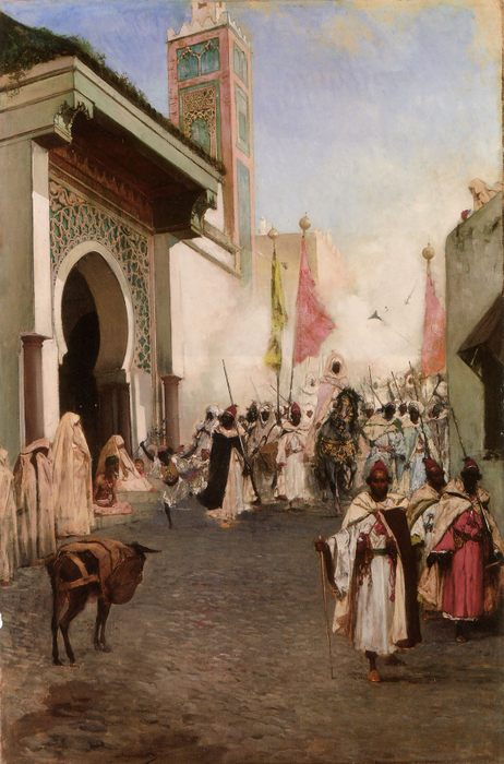 Entrance of Mohammed II into Constantinople (462x700, 465Kb)
