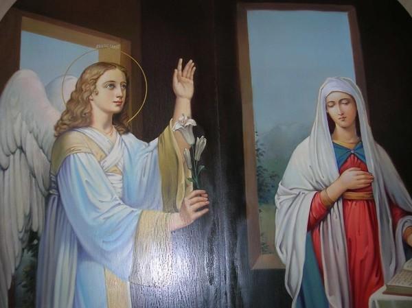 Картинки дева мария и архангел гавриил