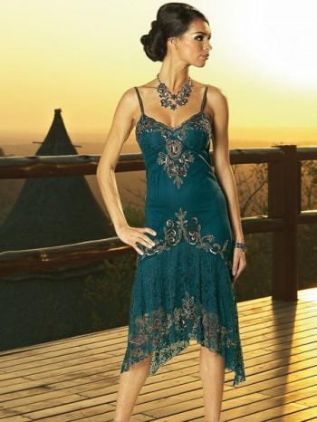 ... и стиль Короткие вечерние платья 2012.