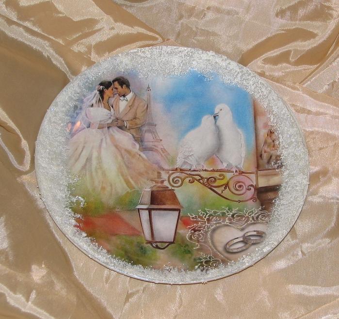Декупаж картинки свадебный