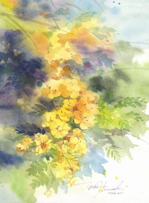 Желтый цветок (476x650, 243Kb)